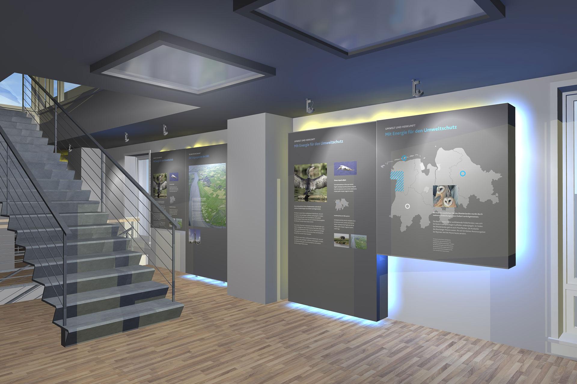 Planung Ausstellungsmöbel