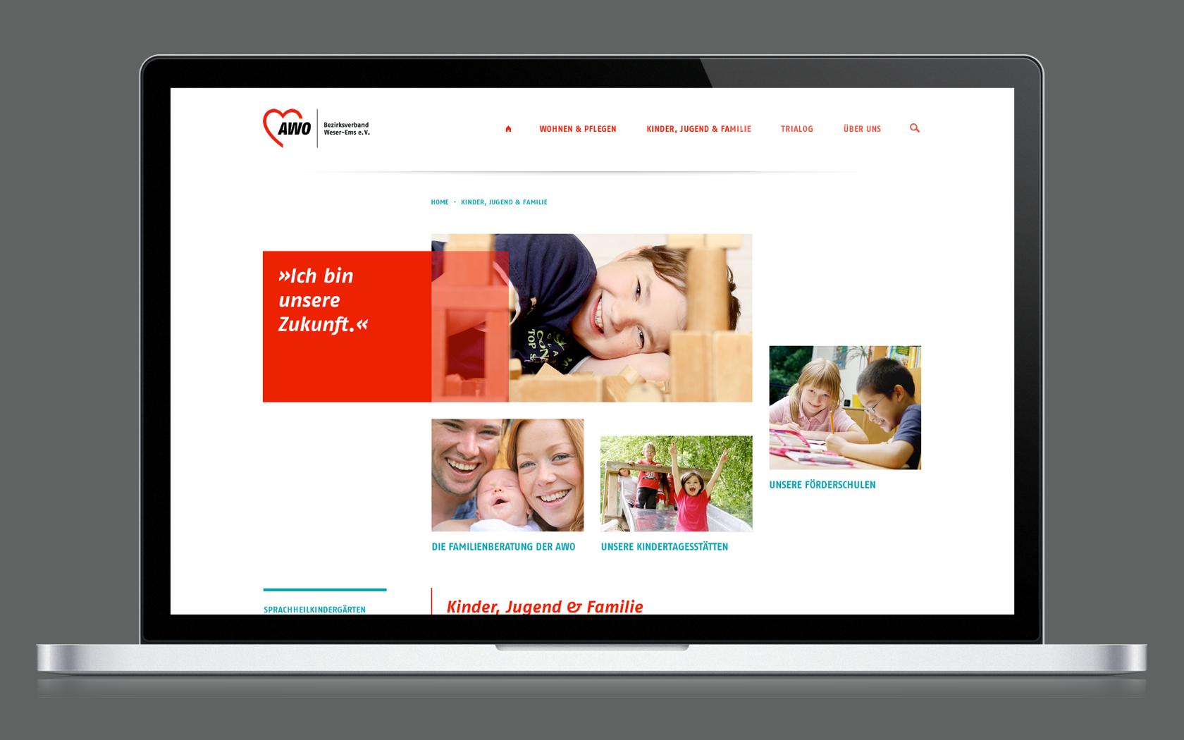 Digital Branding für die AWO Weser-Ems