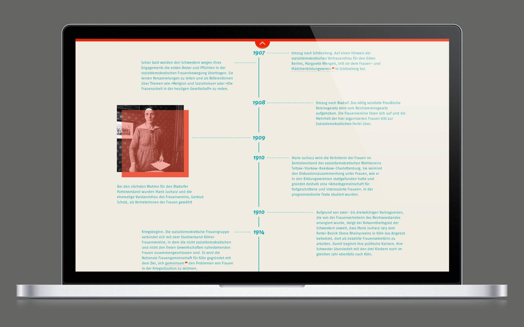 Responsives Webdesign mit gut aufbereitetem Content.