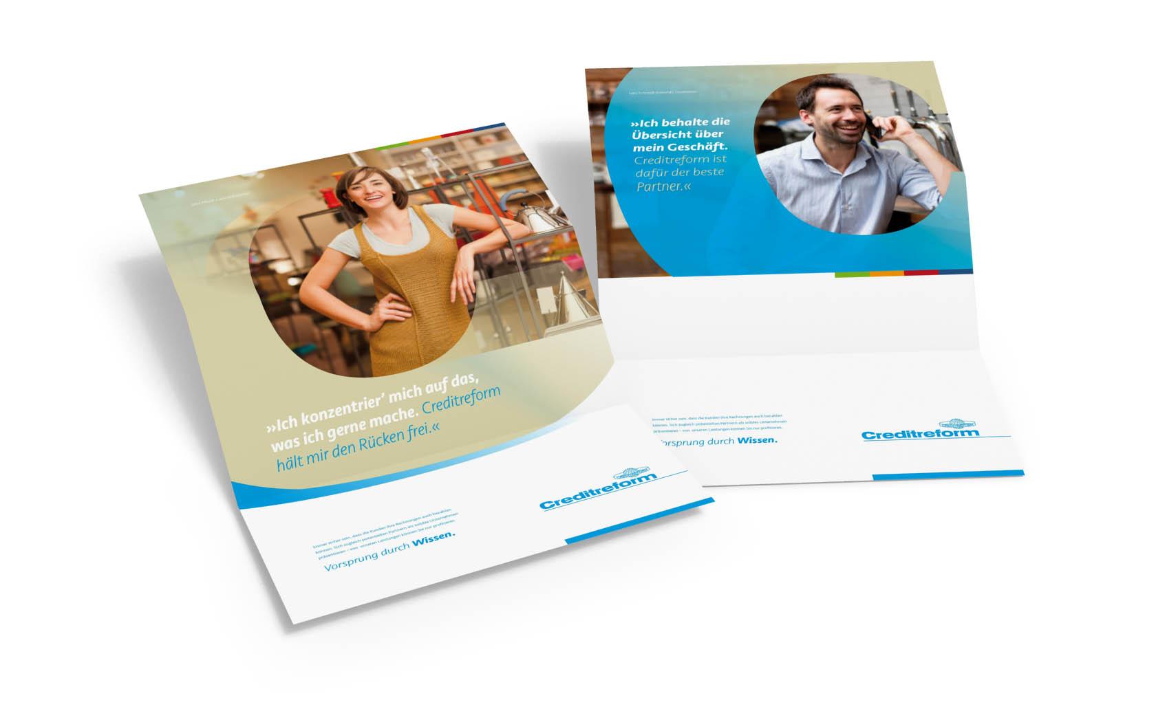 Corporate Publishing: Broschürentitel für Imagebroschüren.