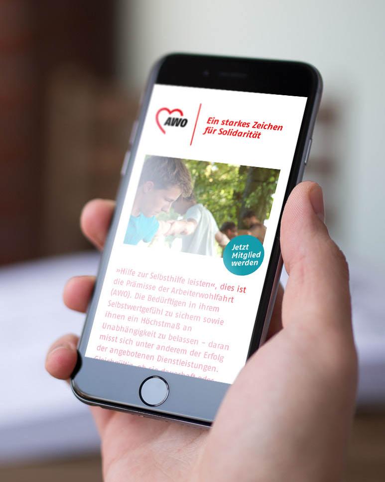 Digital Corporate Branding für die AWO Oldenburg